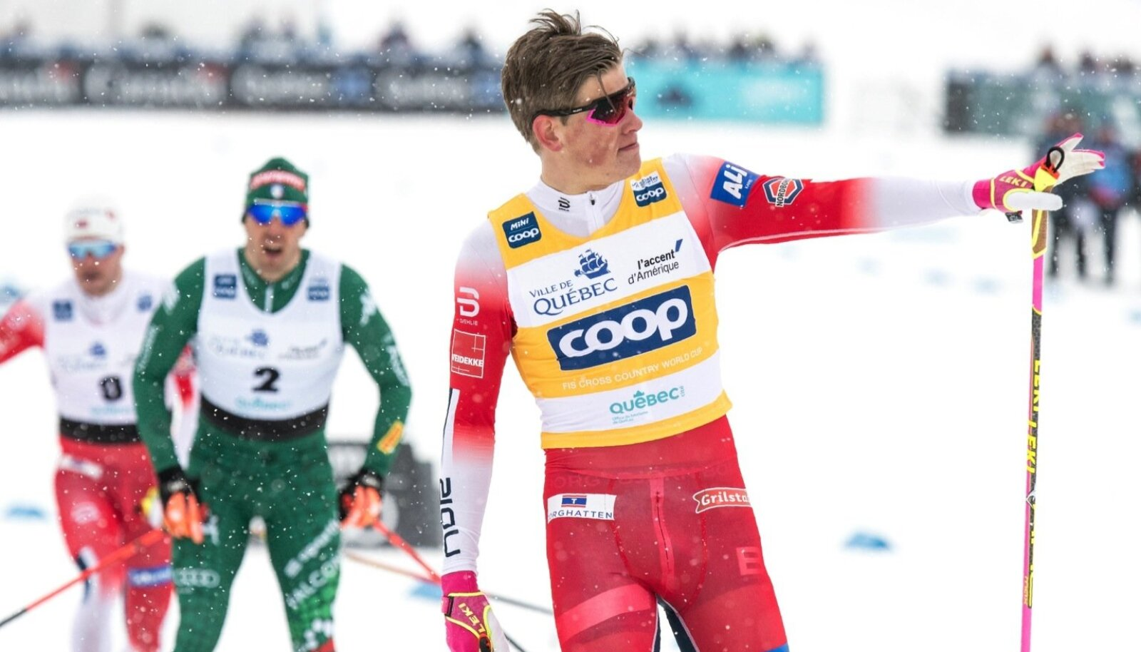First day of the FIS cross-country world cup finals