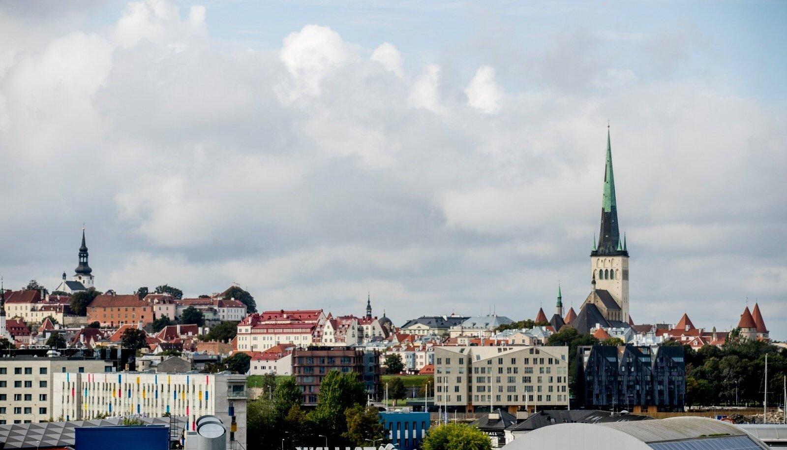 Tallinna vaated, vanalinn, reisisadam