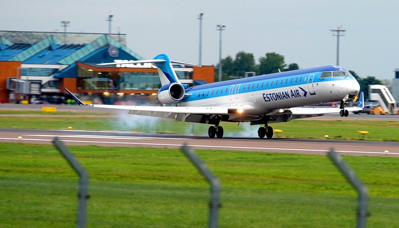 Estonian Airi hädamaandumine  2014
