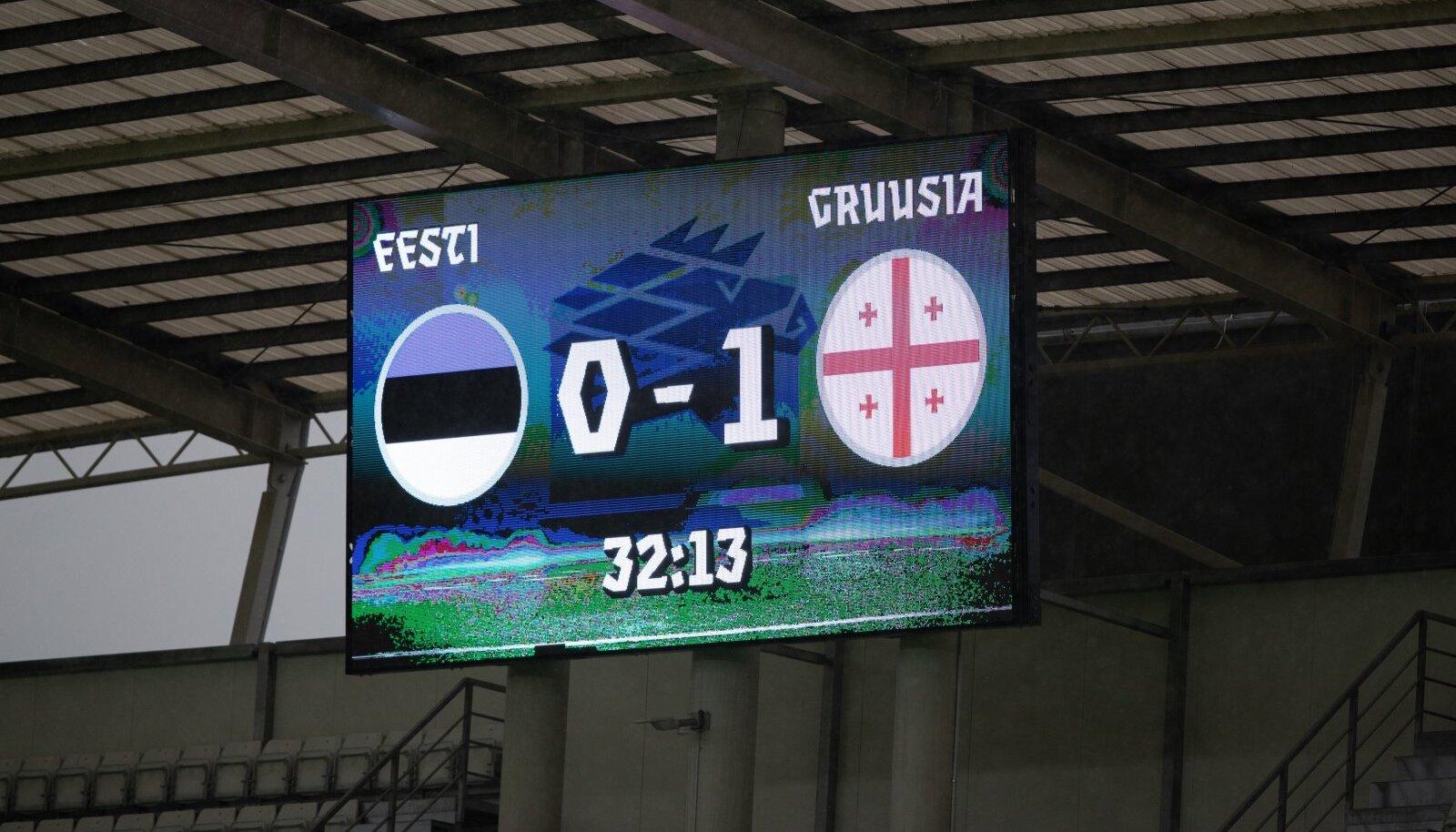 Eesti kaotas septembris nii Gruusiale kui ka Armeeniale.