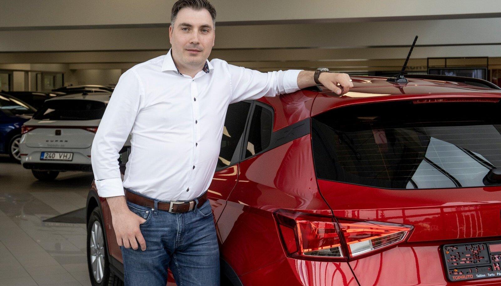 Janek Eskori sõnul on nad ka ise näinud, et sõidukite sisseost ja väljamüük käib väga kiiresti