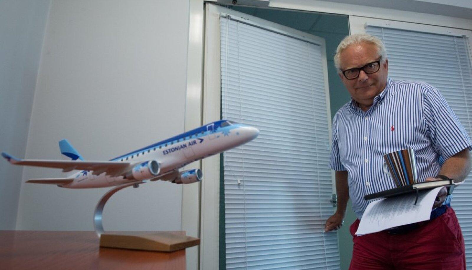 Estonian Airi juht Jan Palmér