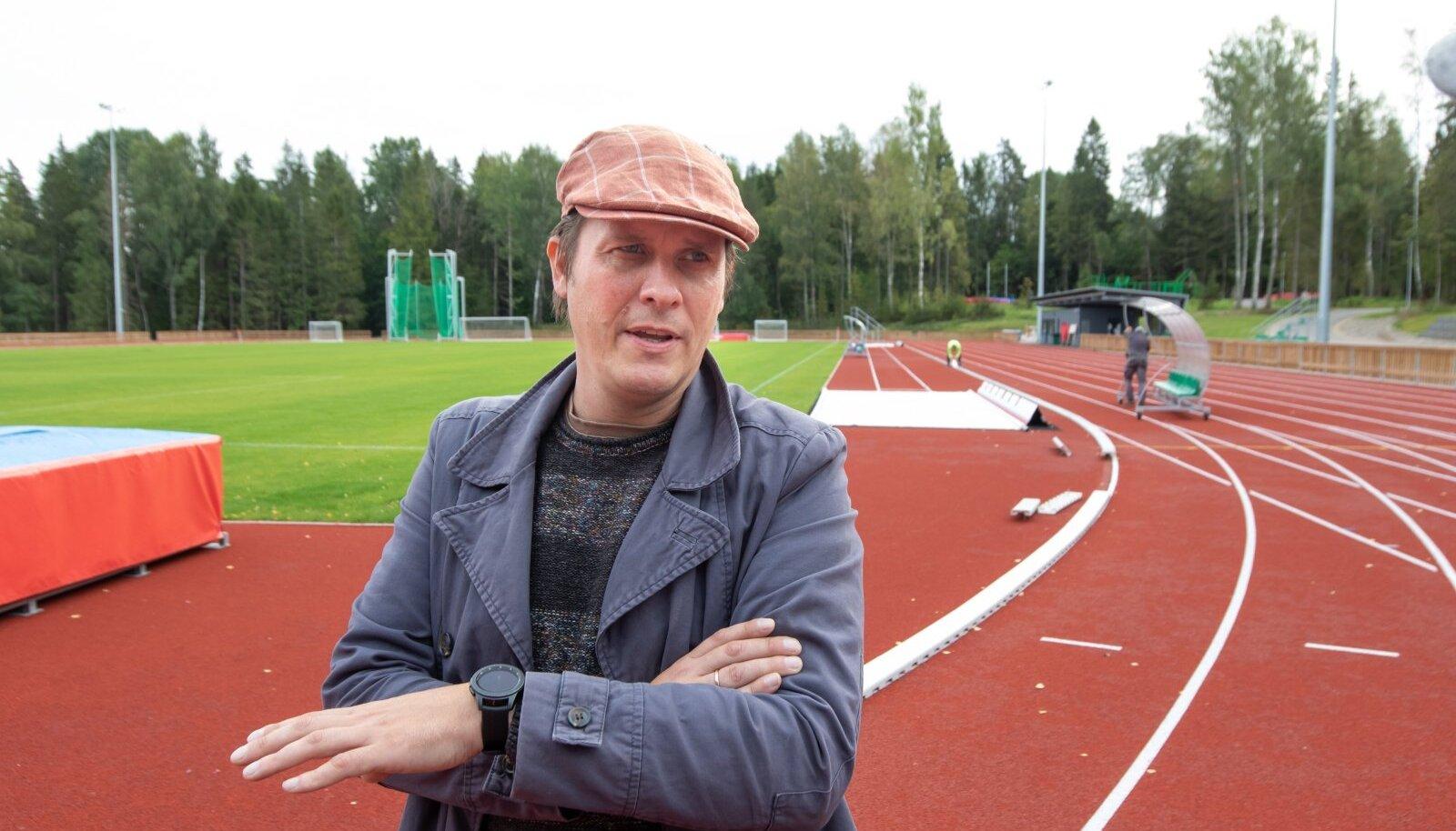 Tehvandi Sport juhatuse liige KRISTJAN KARIS