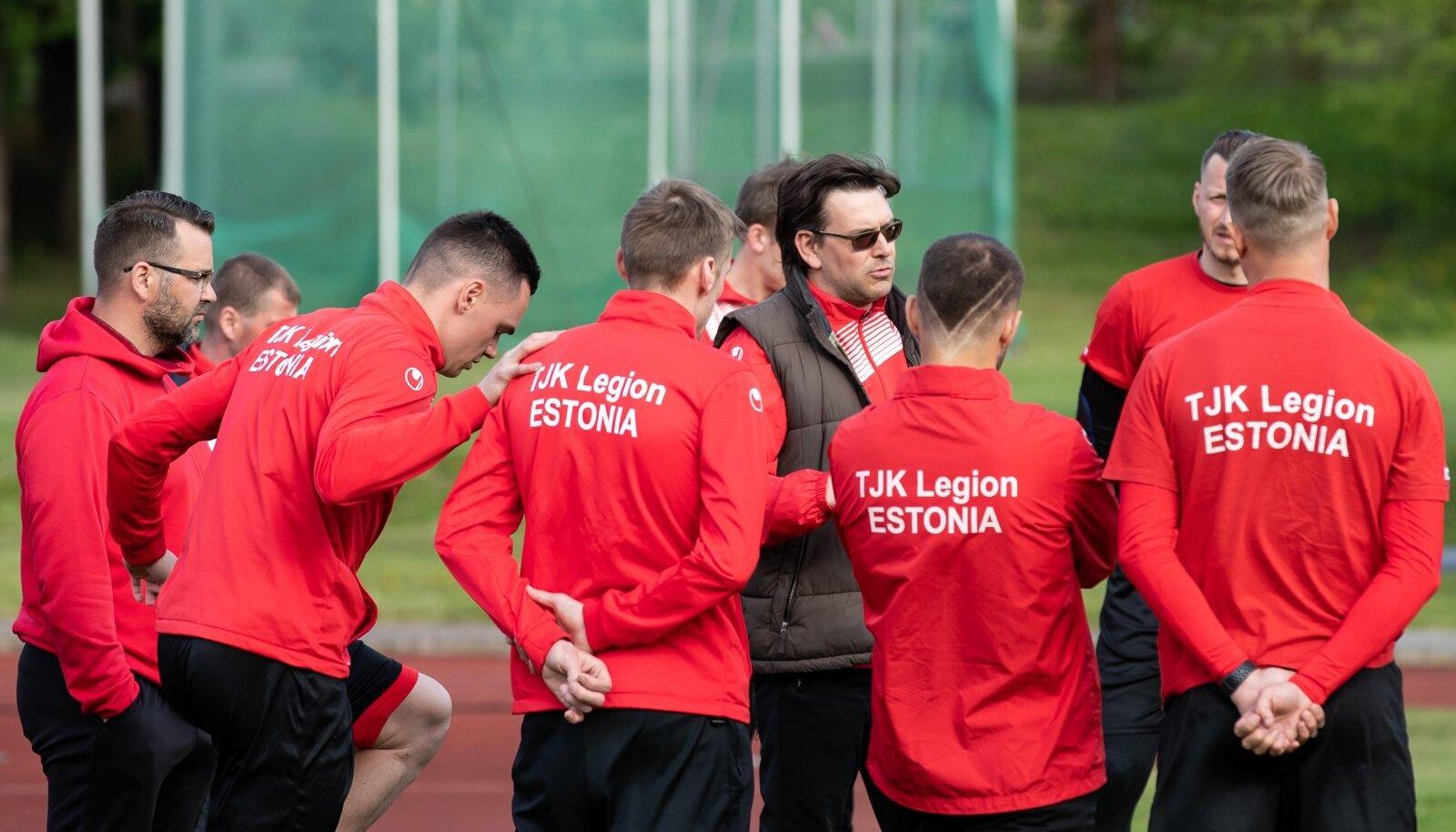 Tallinn, 27.05.2020. TJK Legion treeningul Kadrioru staadionil.