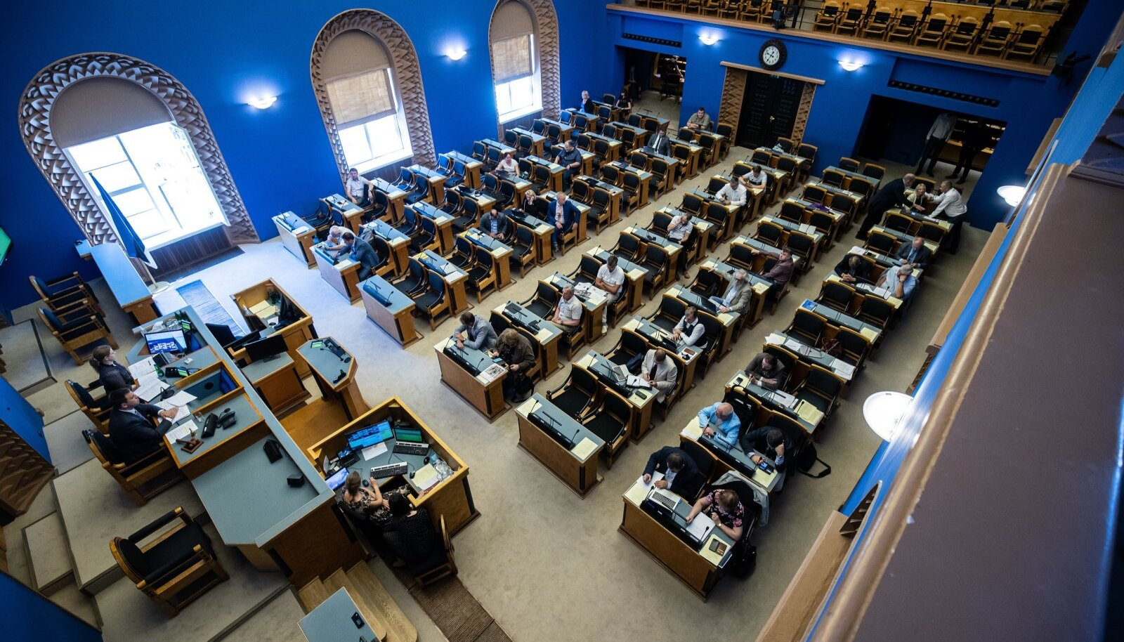 Riigikogu. Foto on illustratiivne
