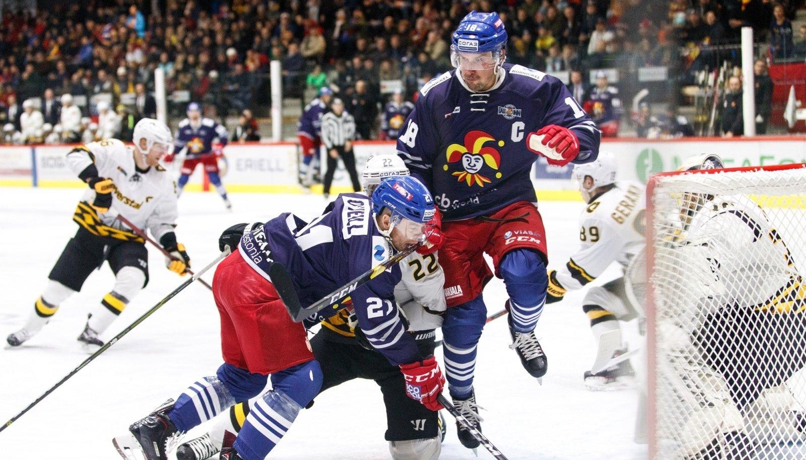 Helsingi Jokerit võitis nii Moskva Spartakit kui ka Tšerepovetsi Severstali.