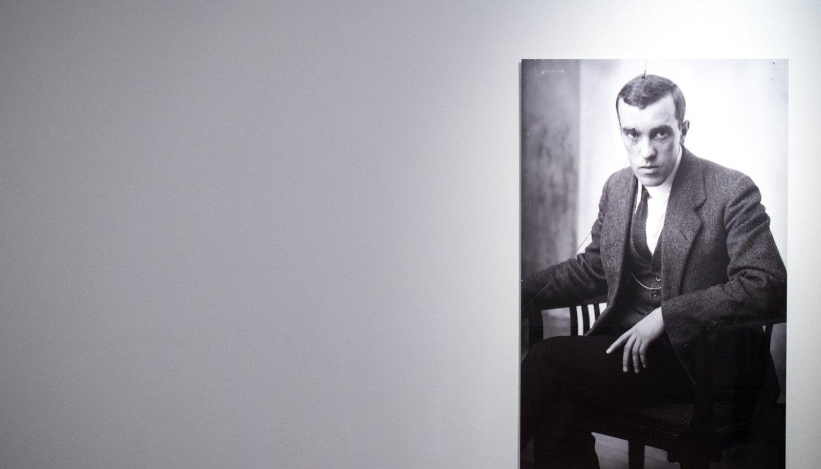 Näitusele minejaid saadab Konrad Mäe pilk.