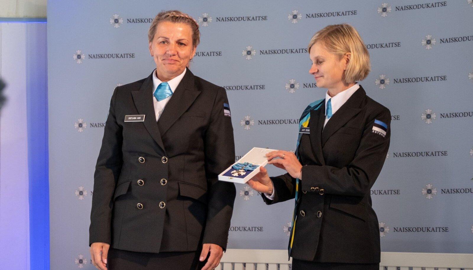 Liiliaristi III klassi kavaler Svetlana Aug on olnud Naiskodukaitse liige pea 23 aastat.