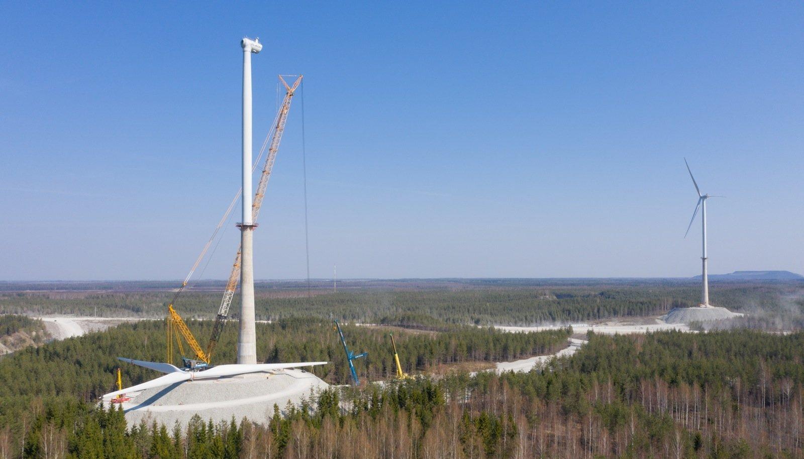 """""""Kui tõesti on ainult Aidu tuulepark Eesti kaitsevõime kaalukeel, siis uus maa oleks muidugi lahendus ja nii lahendaks riik oma probleemi kiiresti,"""" ütles Andres Sõnajalg."""