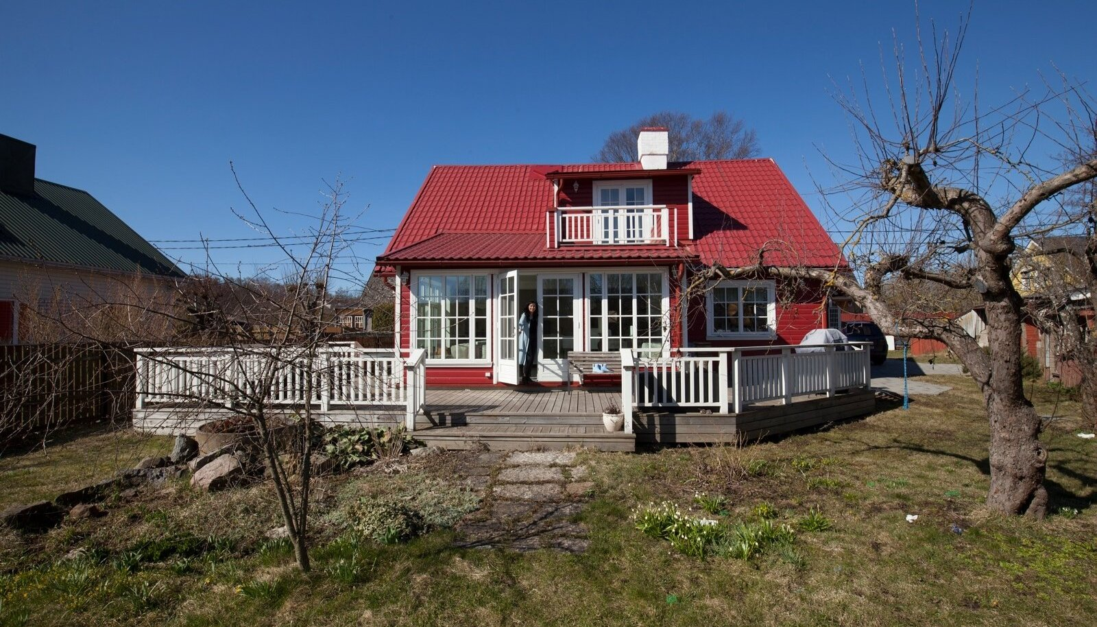 Kadri Koppeli rootsipunast kodu on sõbrad hakanud nimetama Bullerbyks.