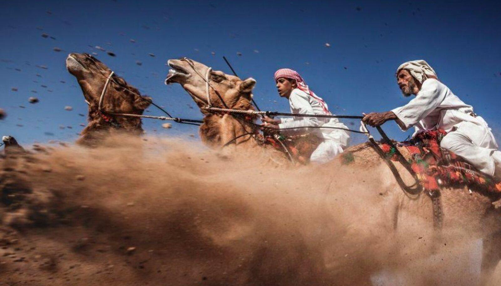 Selle fotoga võitis Ahmed al Toqui möödunud aastal National Geographicu reisifoto konkursil kolmanda koha.