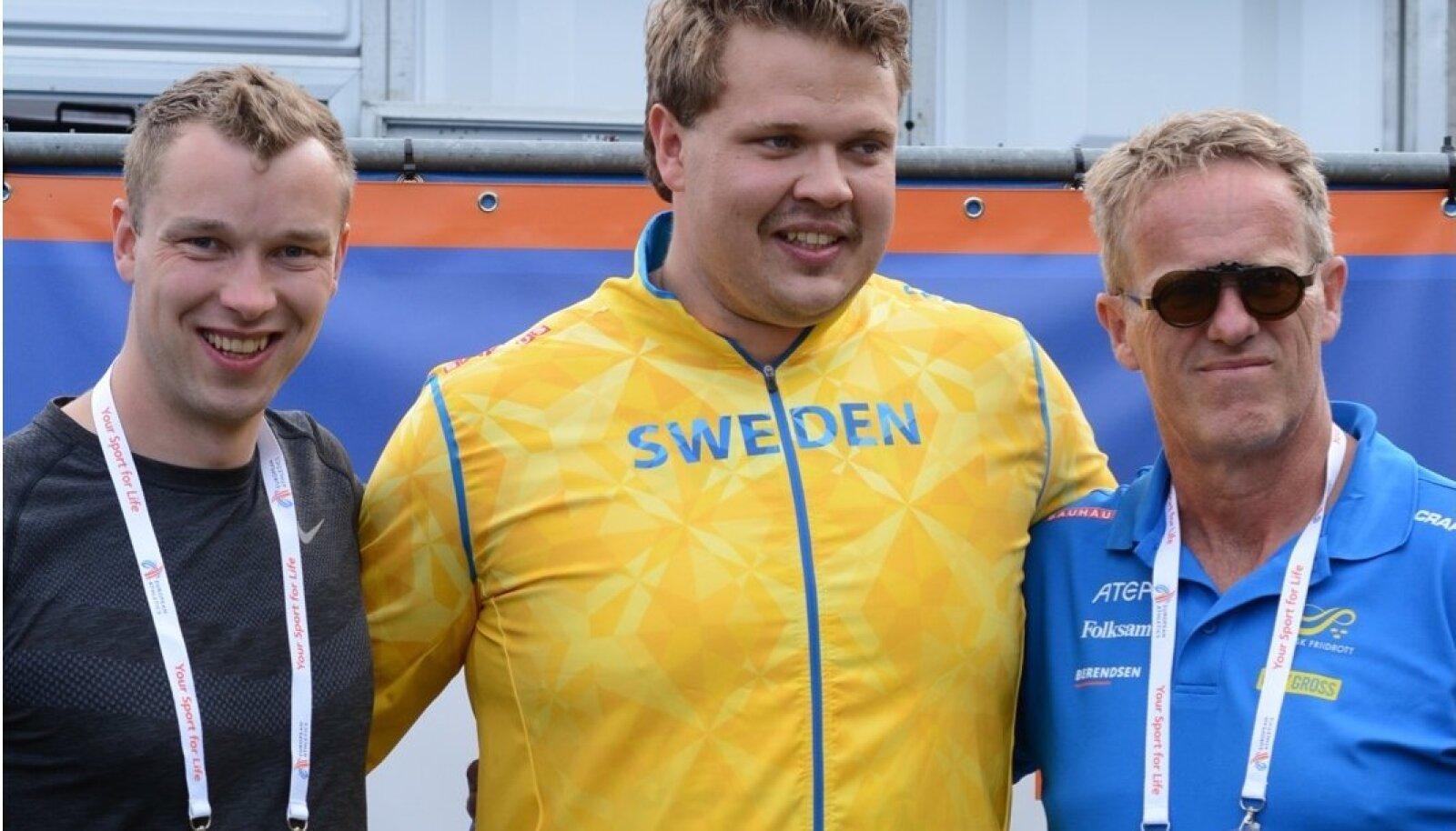 Hans Üürike, Daniel Stahl ja Vesteinn Hafsteinsson ühispildil.