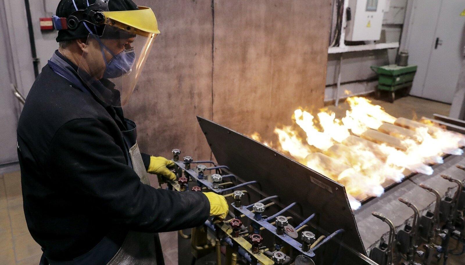 Venemaa metallitööstus.
