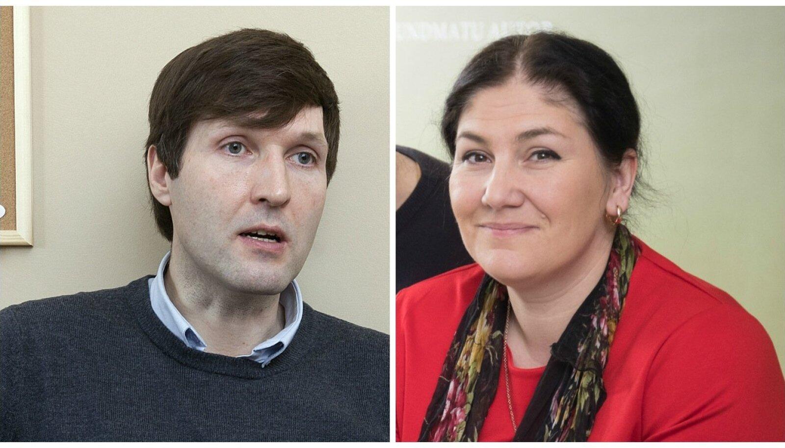 Martin Helme ja Maria Kaljuste
