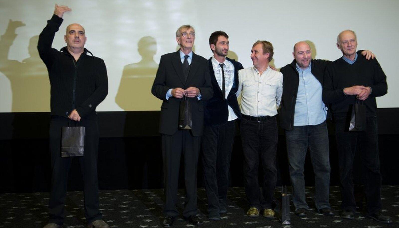 Filmi-Mandariinid-esilinastus, Lembit Ulfsak,Zaza Urushadze, Ivo Felt, Giorgi Nakashidze, Mikhail Meskhi, Elmo Nüganen, Raivo Trass