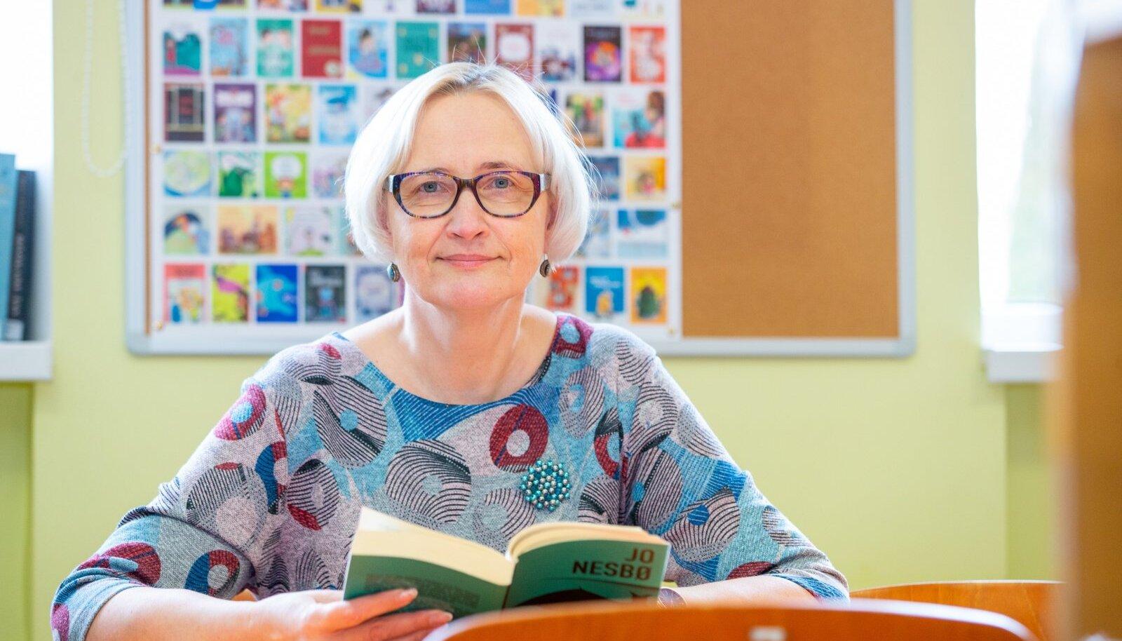 """Katrin Martinfeld: """"Olime viimastel aastatel teinud igal aastal kolm e-kooli päeva. See kogemus tuli nüüd kasuks!"""""""