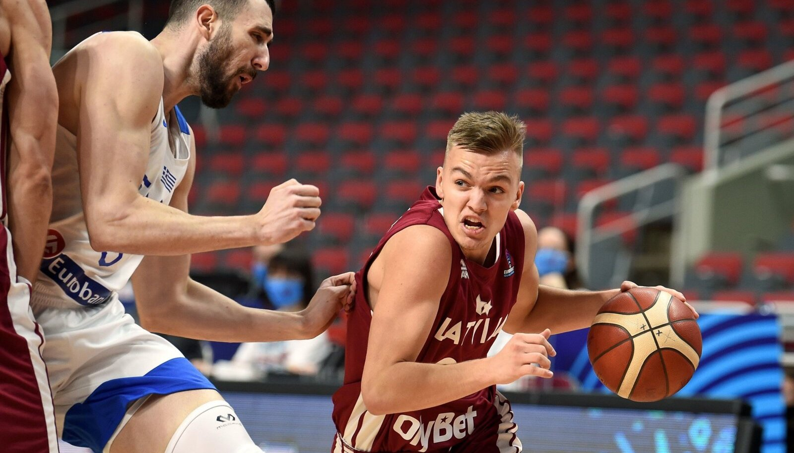 (SP)LATVIA-RIGA-BASKETBALL-FIBA EUROBASKET 2022 QUALIFIERS-LATVIA VS GREECE