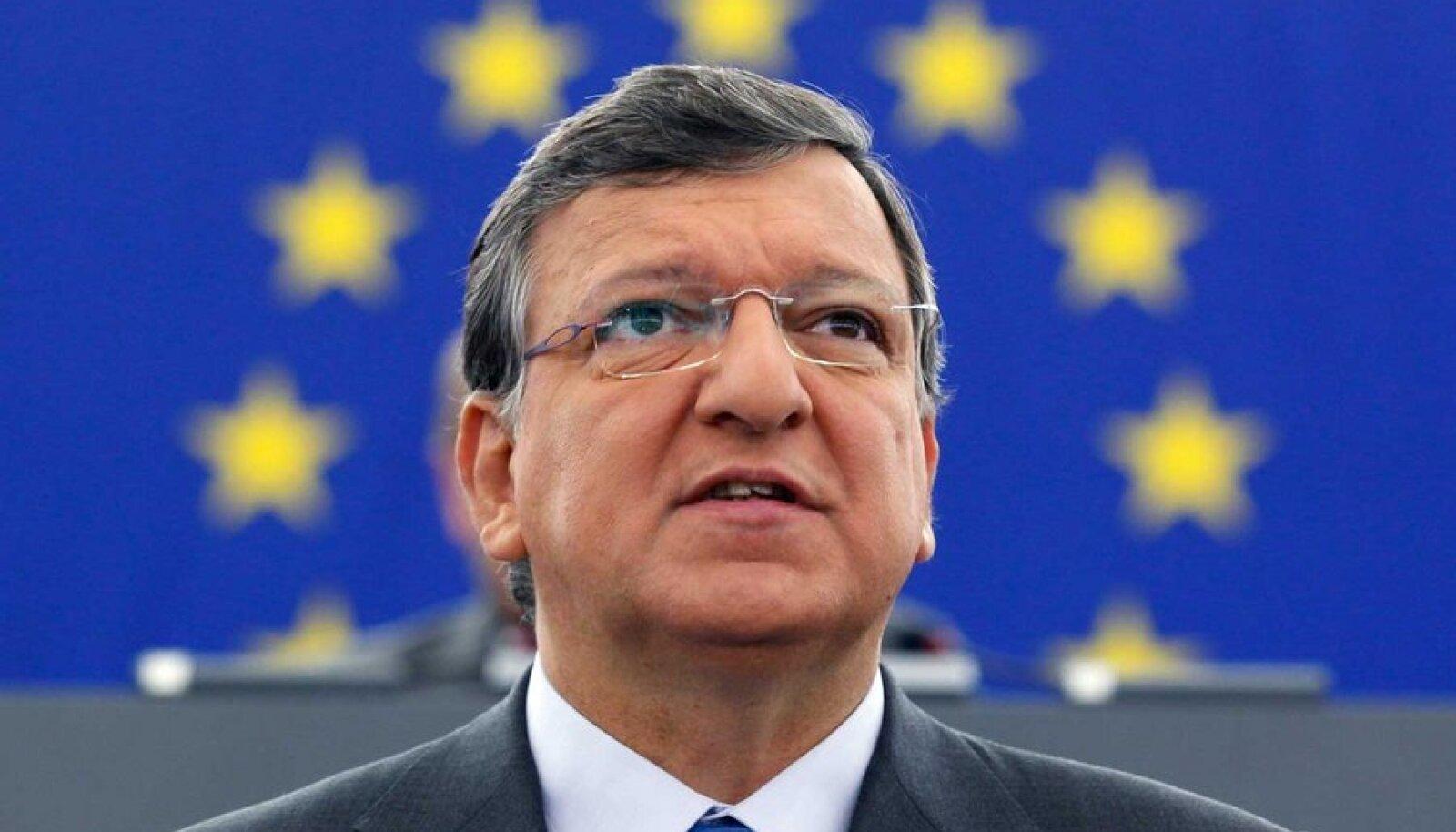 Euroopa Komisjoni president José Manuel Barroso rääkis olukorrast Euroopa Liidus.