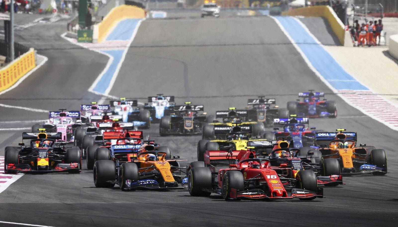 Mullune Prantsusmaa F1 etapp