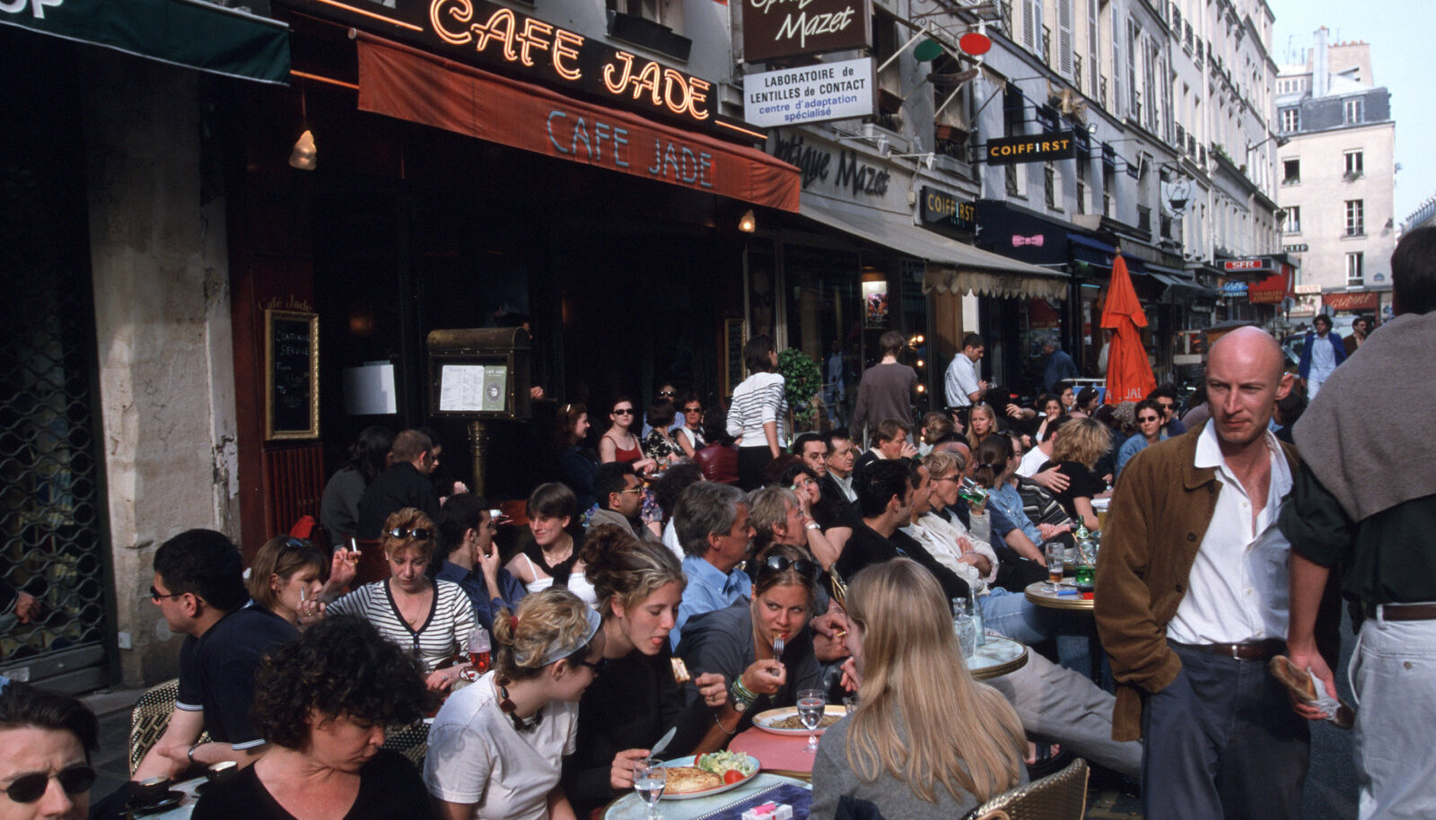 Pariisi tänavakohvik