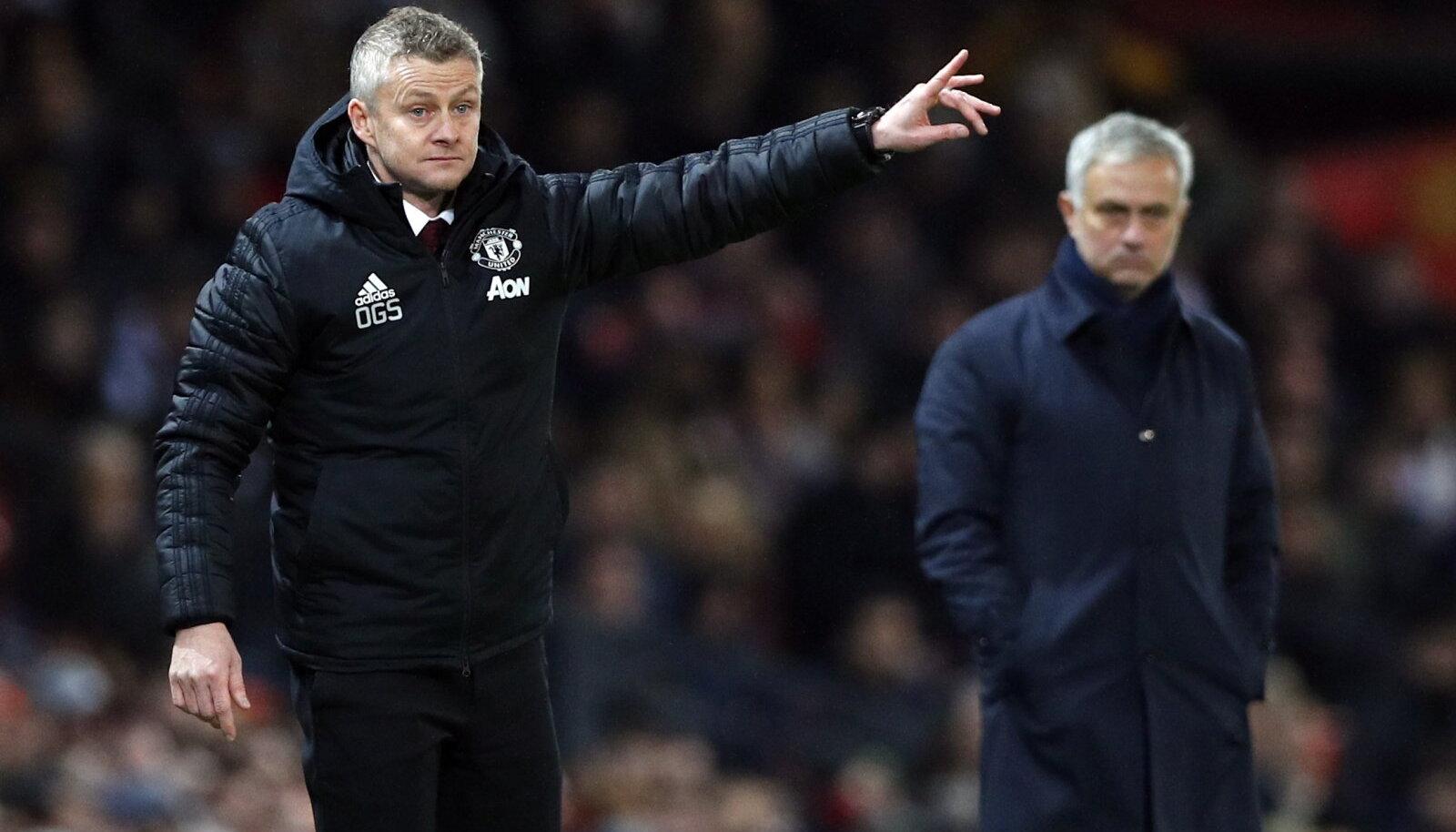 Ole Gunnar Solskjaer suutis United eelmise peatreeneri Jose Mourinho üle mängida.