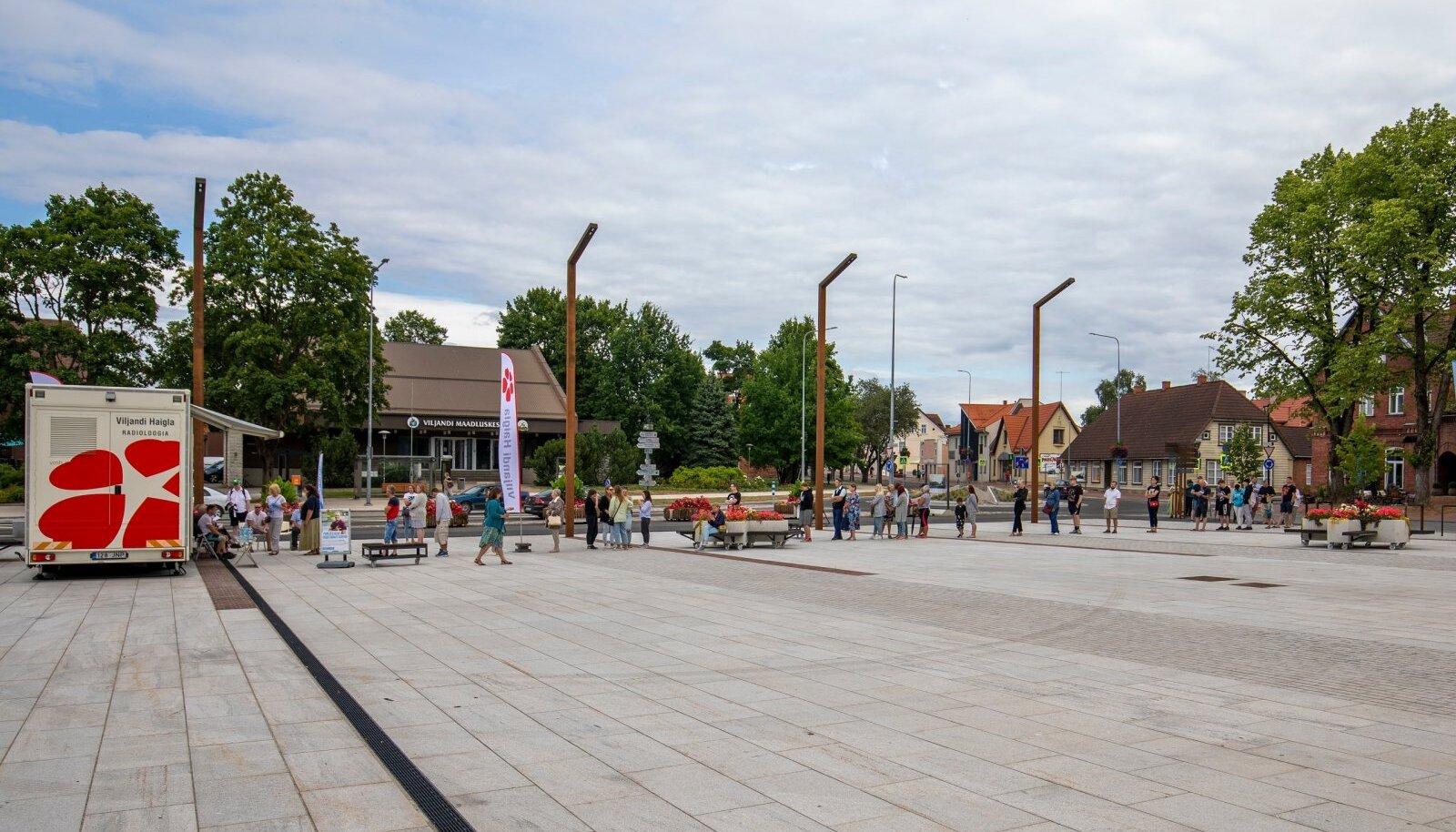 Viljandis vaktsineeriti teisipäeval 439 inimest.