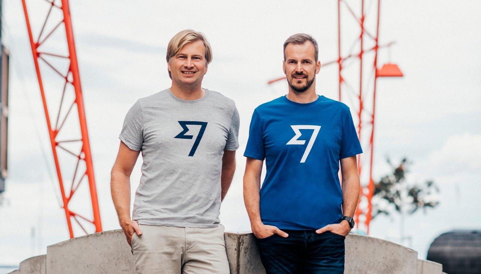 TransferWise'i kaasasutajad Kristo Käärmann (vasakul) ja Taavet Hinrikus (paremal)