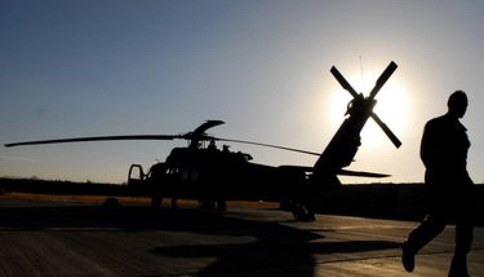 USA lahingkopter Apache Afganistanis
