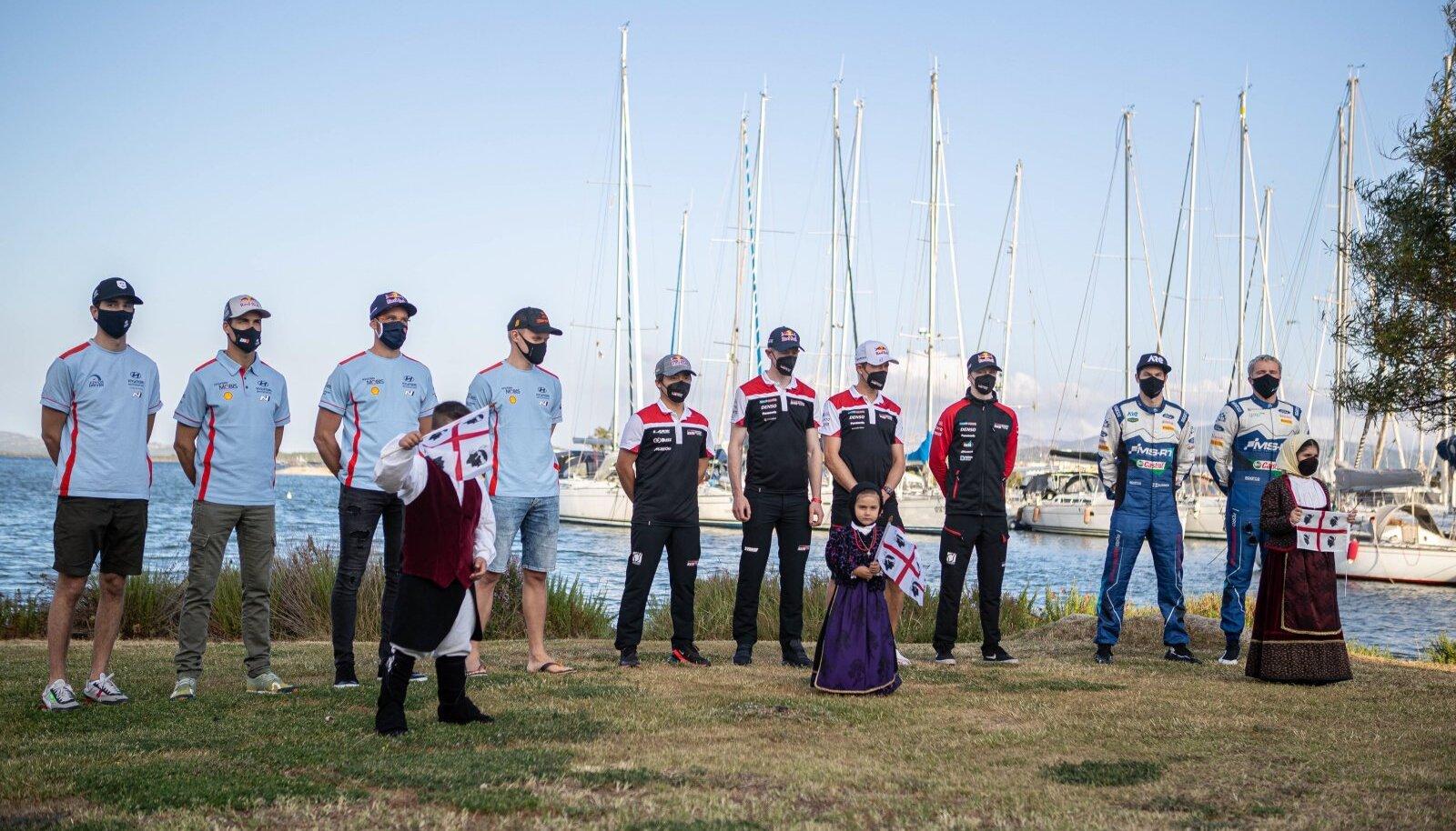 Päev enne ralli algust pidi Ott Tänak koos teiste WRC sõitjatega osalema rallit ja kohalikku kultuuri ühendavatel üritustel.