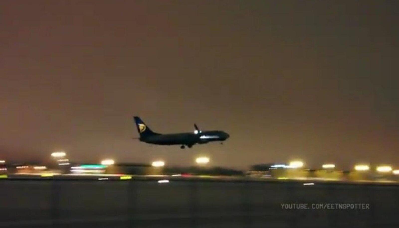 Ryanairi lennuk