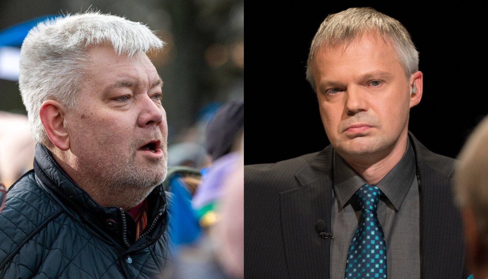 Toomas Sildam vasakul, Indrek Treufeldt paremal.