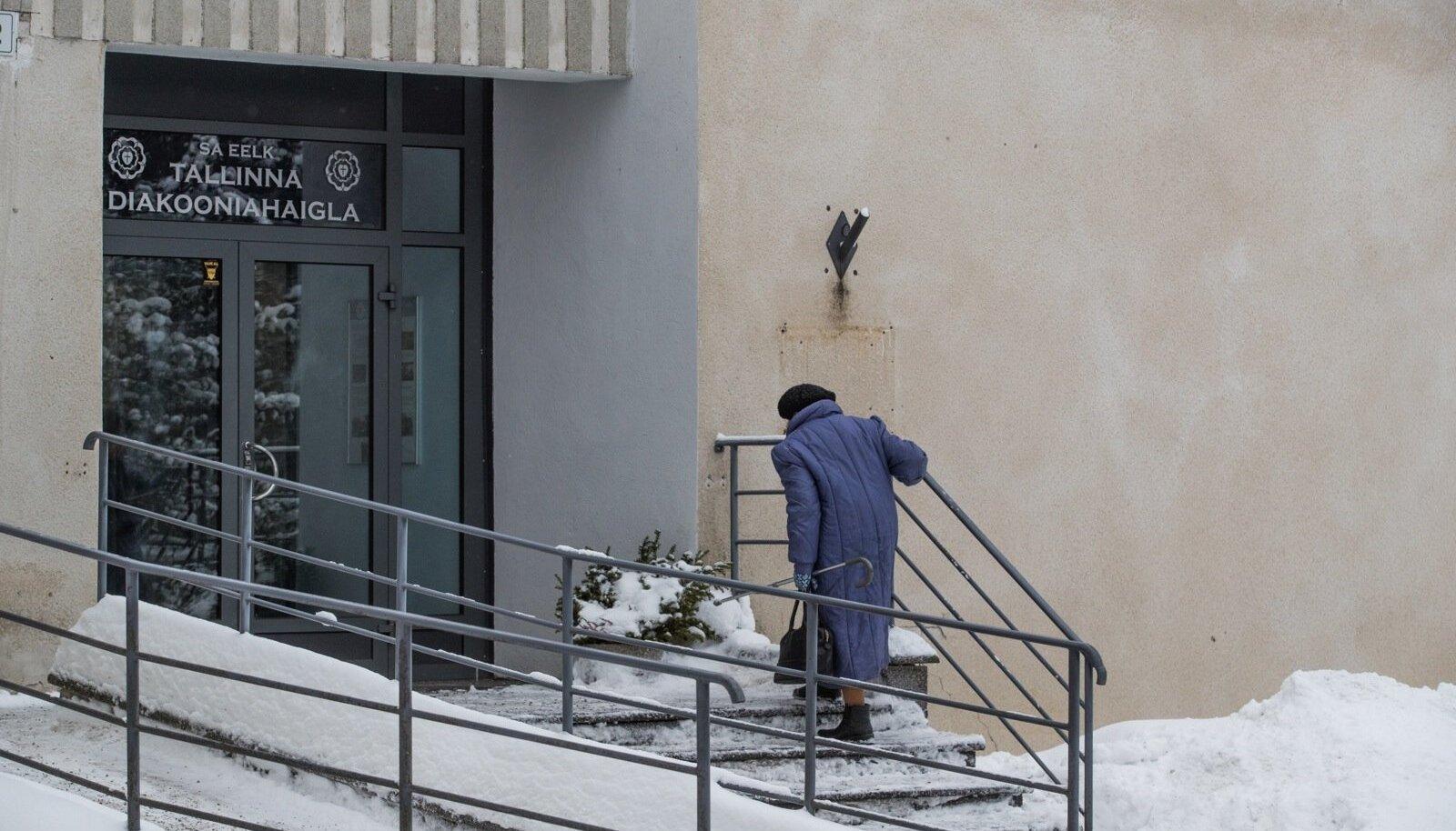 Eesti evangeelsele luterlikule kirikule (EELK) kuuluva diakooniahaigla hospiitsi ähvardab sulgemine juhul, kui Keila haiglal õnnestub kohtusse jõudnud riigihanke vaidlusest võitjana väljuda. Keila haigla ei ole rahul, et nad ei võitnud haigekassa hankes piisavalt hoolduskohti.