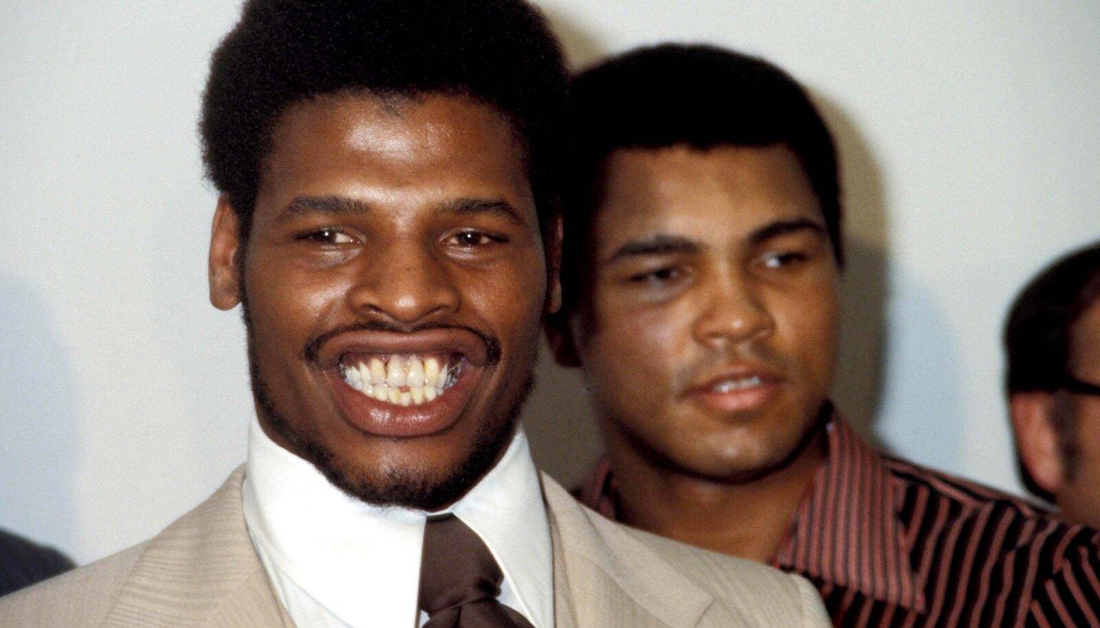 Leon Spinks ja Muhammad Ali 1978. aastal