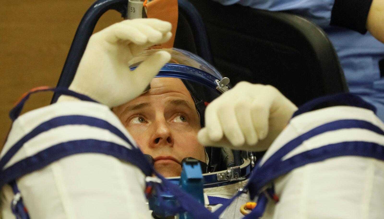 Nick Hague on üks kuuest hetkel ISS-i pardal olevast astronaudist