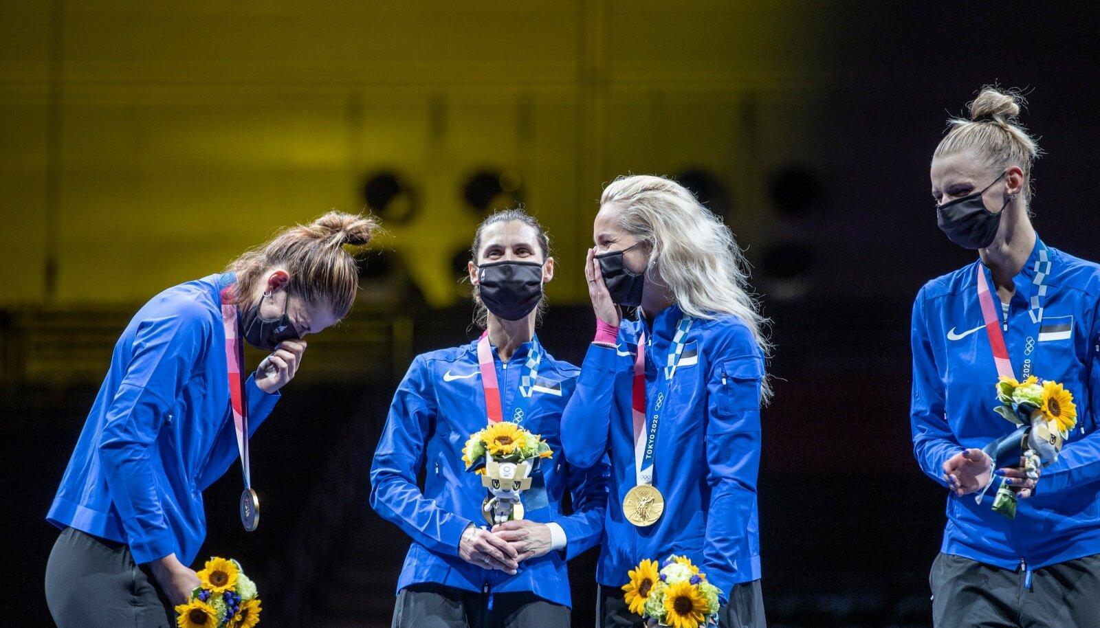 Julia Beljajeva ilus võitlus emotsioonidega: see on olümpiavõit!