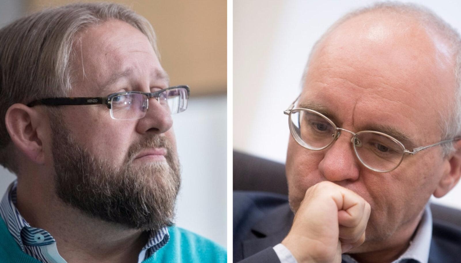 Anvar Samost ja Erik Roose