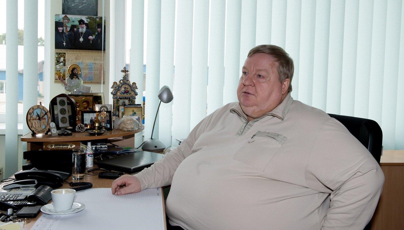 Enamik Jõhvi hooldekeskuse nõukogu liikmetest on Nikolai Ossipenko (pildil) valimisliidust.