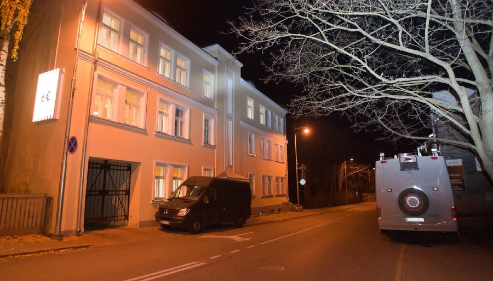 Tartus toimunud Tšastini firma läbisotsimisoperatsioon aastaid tagasi.