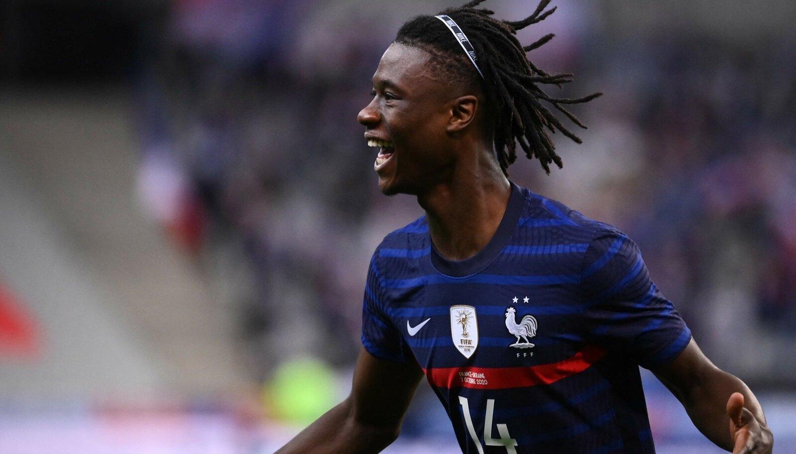 Eduardo Camavinga on noorele eale vaatamata jõudnud juba ka Prantsusmaa koondisesse.