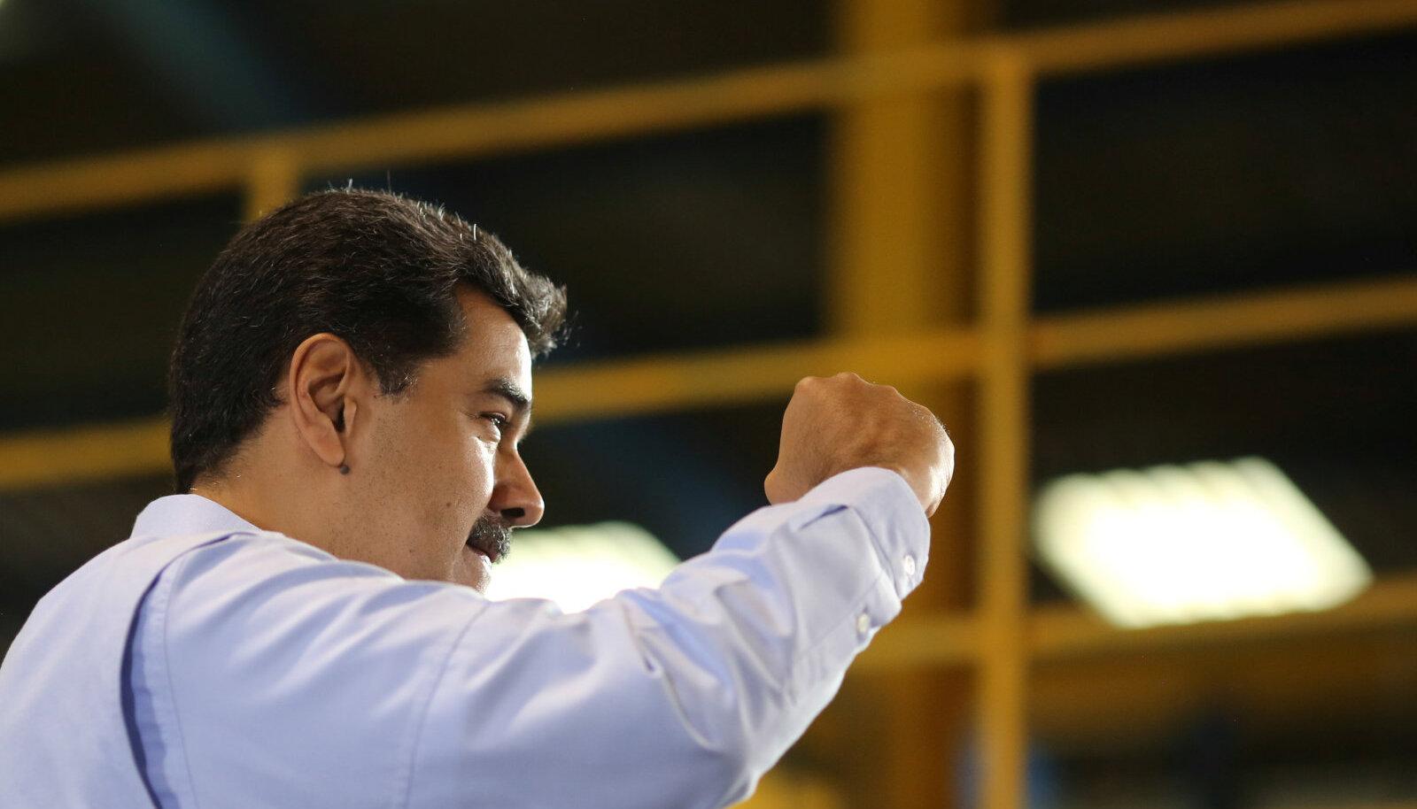 Kardetakse, et Maduro hakkab opositsiooni maha suruma