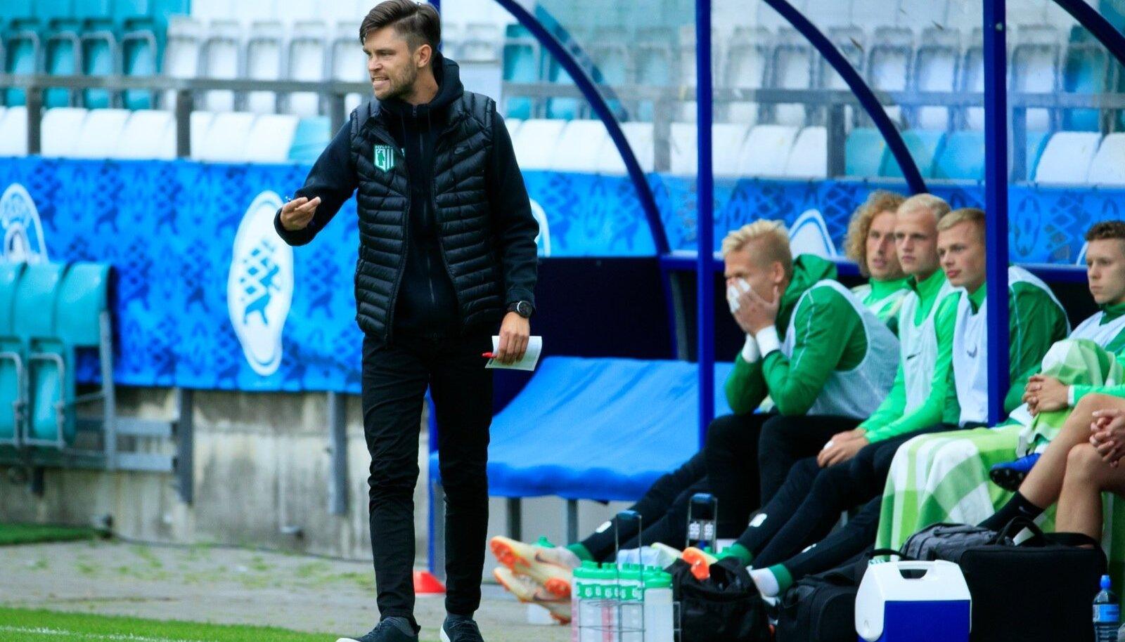 FC Flora alistas Euroopa liiga esimeses eelringis Serbia võistkonna FK Radnicki Niš seisuga 2 : 0.