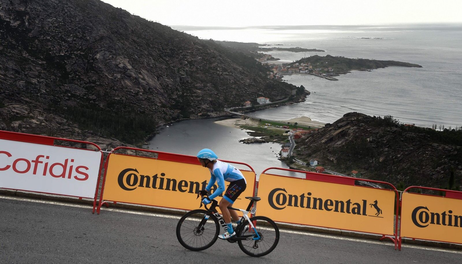 Mihkel Räim teisipäeval Vuelta 13. etapil.