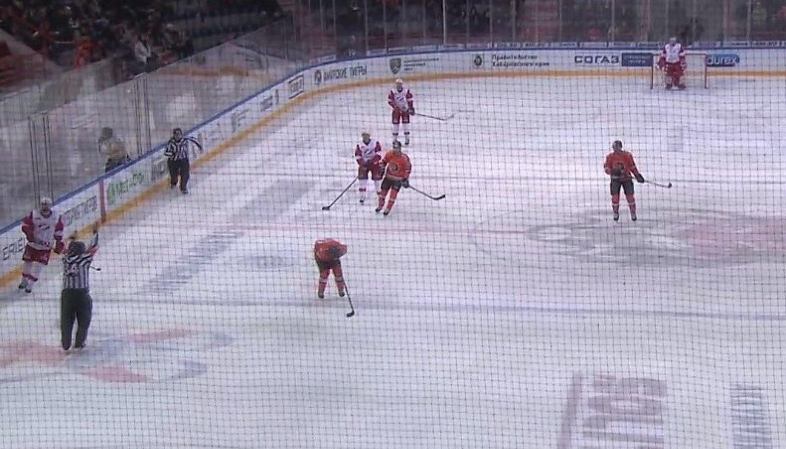 KHL-i mäng Amur - Spartak