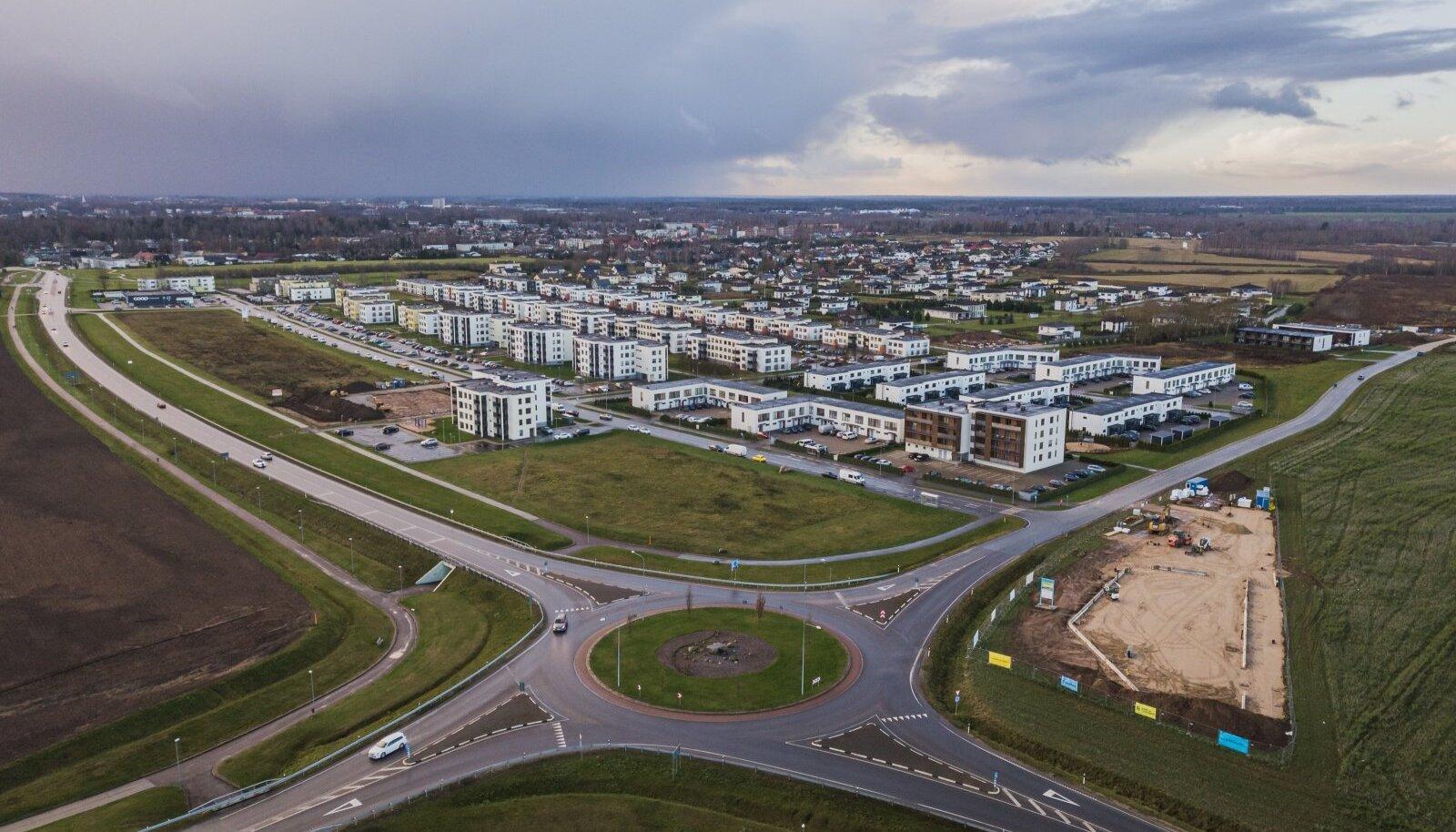 Äärelinn, Tartu vald