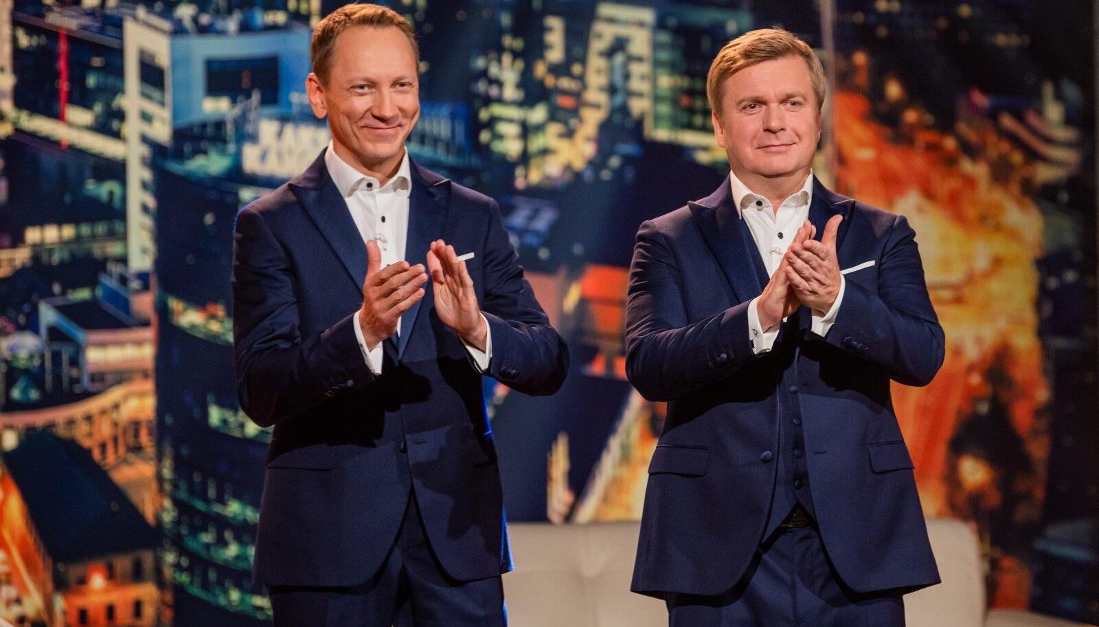 """""""Kaks kanget LIVE'i"""" uue hooaja avasaatesse, mis jõuab TV3 eetrisse homme õhtul kell 21, toovad Teet Margna ja Kristjan Jõekalda mitme külalisega neile omapäraselt rohkelt hoogu ja emotsiooni."""