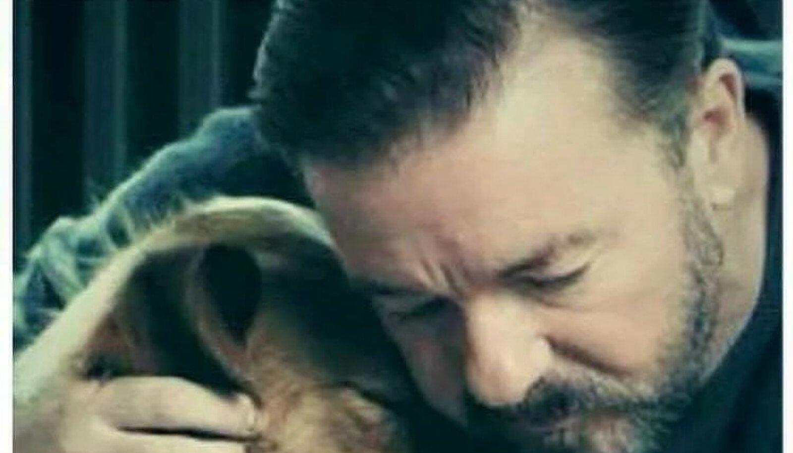 Juhtumi avalikustanud Ricky Gervais on alati loomade õiguste eest seisnud