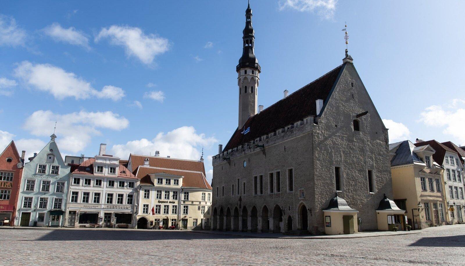 Tallinn, 01.04.2020. Vanalinn