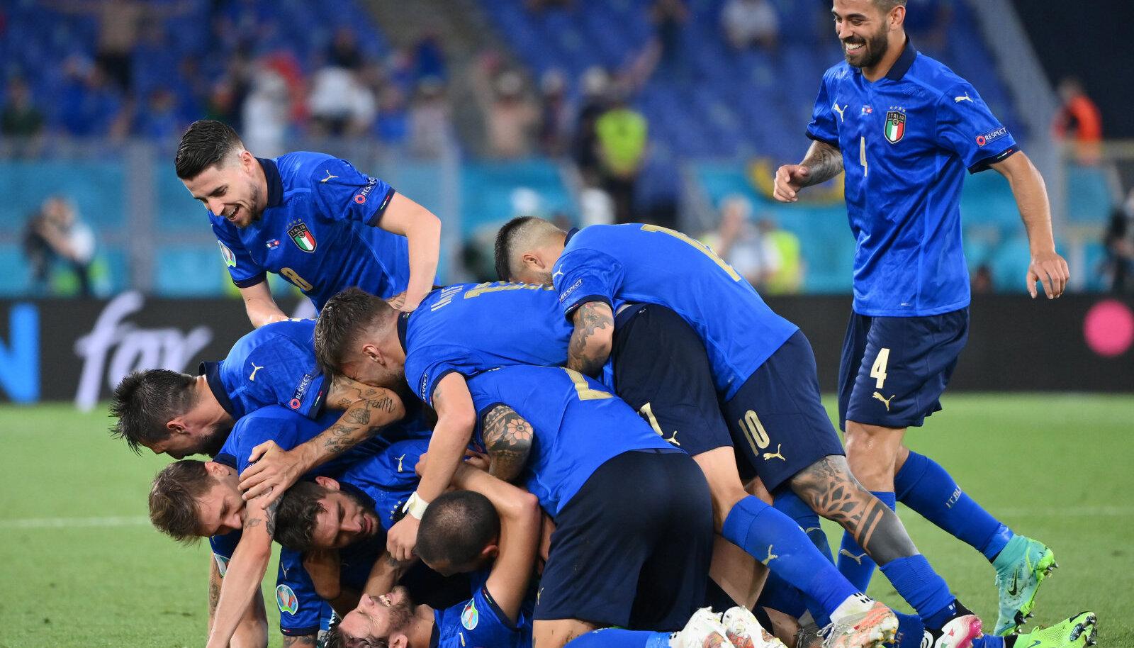 Kas Itaalia jalgpallikoondis läheb EM-il tiitlini välja?