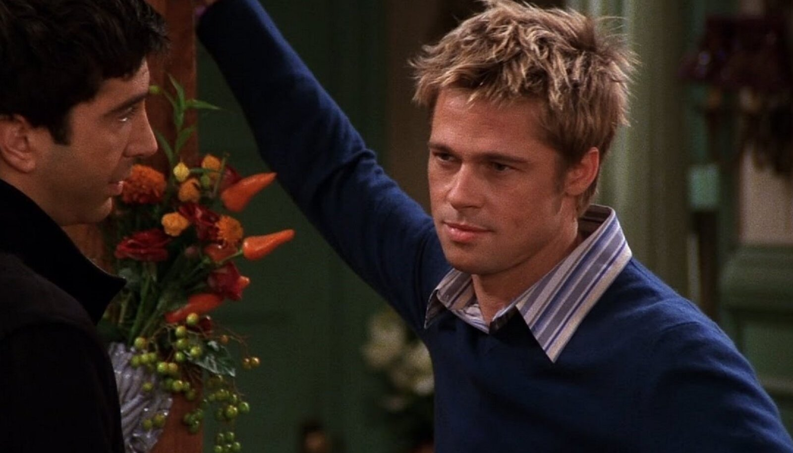 """Ühes """"Sõprade"""" episoodis mängis ka Brad Pitt"""