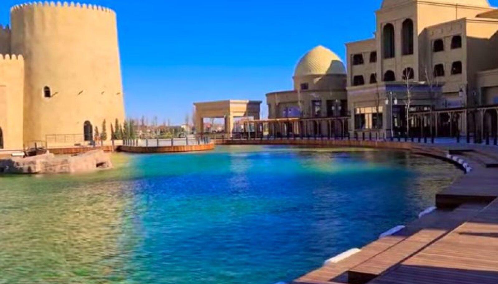 """Зачем ехать в Дубай, когда у нас есть Туркестан"""": в Казахстане открылся  крупнейший в Центральной Азии туристический комплекс """"Керуен-сарай"""" - Turist"""